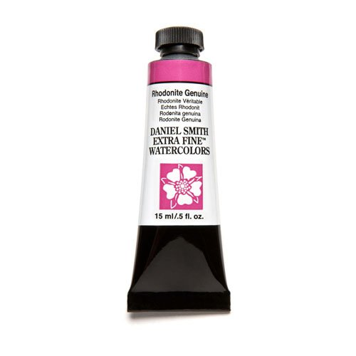 ine Watercolor 15ml Paint Tube, Rhodonite Genuine (Moonglow Stone)