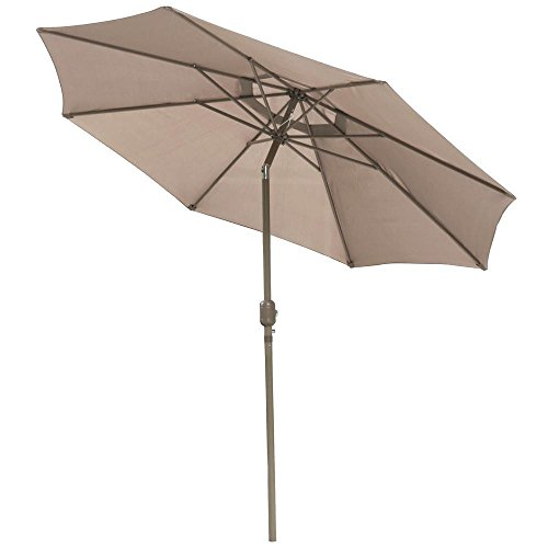 Outdoor Kitchen Umbrella: Yaheetech 10ft Aluminum Outdoor Beach Patio Pool Umbrella