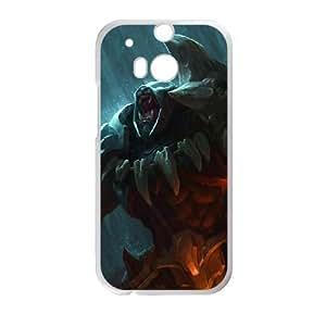 HTC One M8 Cell Phone Case White League of Legends Headhunter Rengar B7T9AM