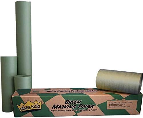 Mass King 18 35# Green Machine Finished Automotive Masking Paper 1 700