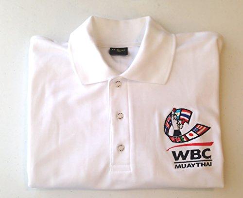 (World Boxing Council Polo Shirt (WHITE, XL))