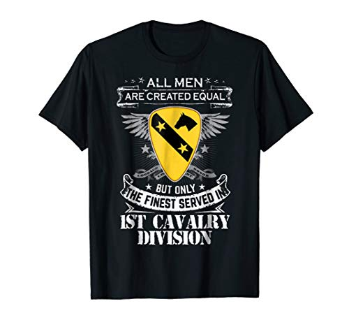 The Finest Served In 1st Cavalry Division T-Shirt