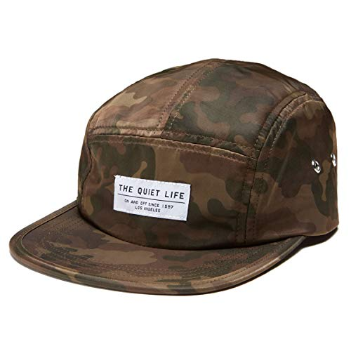 The Quiet Life Camo 5 Panel Camper Hat - Army - Quiet Life Hat