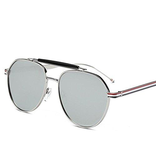 Aoligei Autour de rétro star féminine de lunettes de soleil lunettes de soleil visage lunettes mans ZHDxf3RY