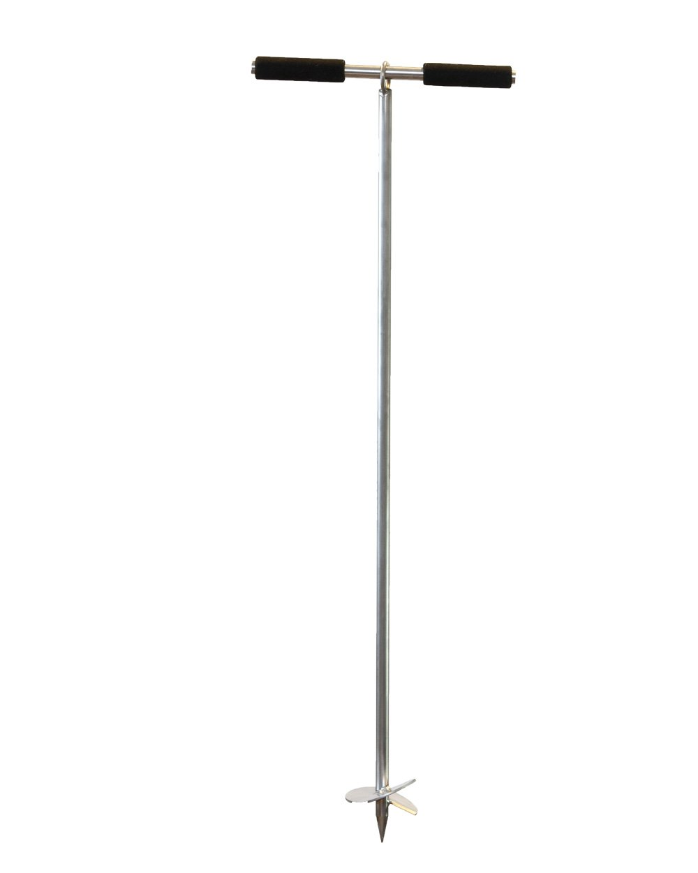 """SandShark 36'' Boat or Pontoon Sand Anchor for The Beach or Sandbar. Stainless Steel with Removable Handle 36""""."""