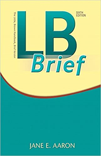 Amazon lb brief 6th edition 9780134123073 jane e aaron lb brief 6th edition 6th edition fandeluxe Images