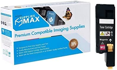 SuppliesMAX Compatible Replacement for Media Sciences MDA44007 Magenta Toner Cartridge Equivalent to Dell V3W4C 1000 Page Yield