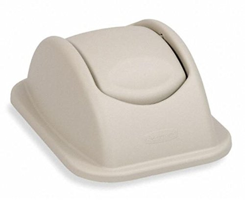 AliMed Untouchable Square Swing Top Lids - 4 Per Case ()