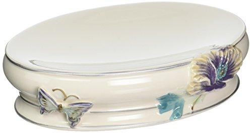 Creative Bath Garden Gate Ceramic Soap Dish, Lilac from Creative Bath