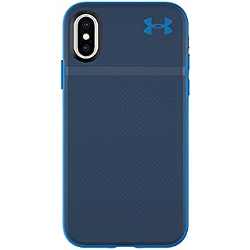 brand new 84989 c6fa0 Under Armour UA Protect Stash Case for iPhone X - Midnight  Navy/Mediterranean