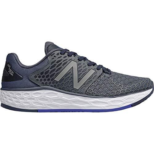 New Balance Men's Vongo V3 Fresh Foam Running Shoe, Pigment/uv Blue, 9 D US