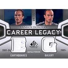2011 SP Game Used Career Legacy Dual Jersey #LD Landon Donovan Jersey /75 - NM-MT