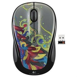 Logitech Wireless Mouse M325 - Optical - Wireless - Radio Frequency - USB - Tilt Wheel - 3 Button(s) - Symmetrical