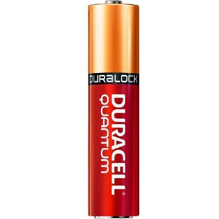 Alkaline Battery Shelf Life - Duracell Quantum Alkaline Batteries, AAA, 24/BX (QU2400BKD)