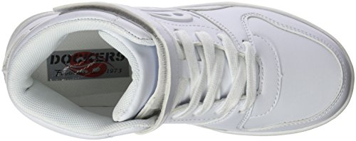 Dockers by Gerli 38di605-610500, Zapatillas Altas Unisex Niños Blanco (Weiss 500)