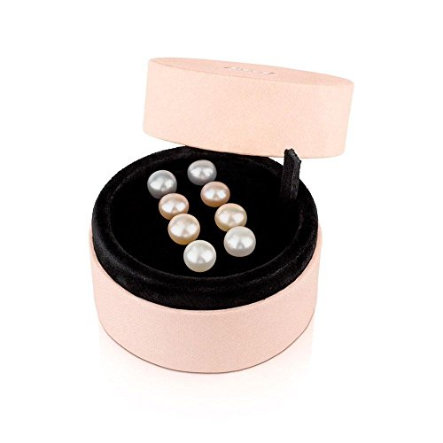 TOUS Multicolor Pearl Earring Set