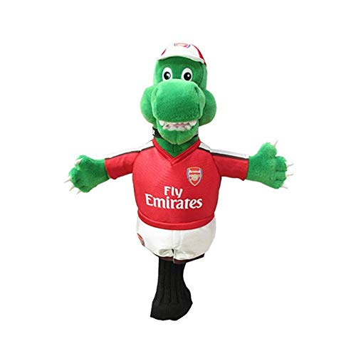 Arsenal FC Mascot Headcover (One Size) (Red/Green)