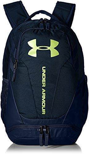 Under Armour Hustle 3.0 Backpack - Academy/High Vis 並行輸入品 B07F4F3173