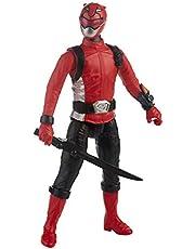 Power Rangers Beast Morphers rode ranger, 30 cm groot actiefiguur