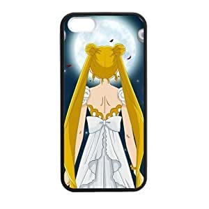 Anime Mamoru Super Sailor Moon Cover Case for iPhone 5/5s (Laser Technology)