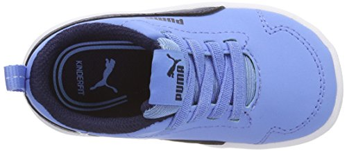 Puma Courtflex Inf, Zapatillas Unisex Niños Azul (Little Boy Blue-peacoat)