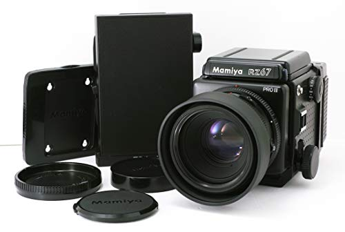 Mamiya RZ67 Pro II Camera with Waist Level, 50mm F/4.5w and 150mm F/3.5w Lenses, non AE Prism Finder, 120 Film Back(2)