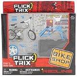 Flick Trix Retro Redline Finger Bike Shop Set