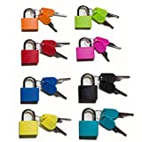 Padlock Security Lock Applies to Lockers Backpacks Computer Bags Toolbox and Other Colorful