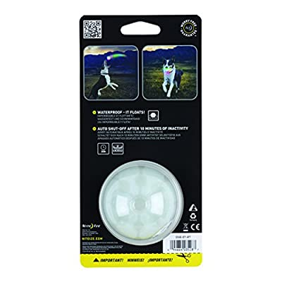 Nite Ize GlowStreak LED Dog Ball, Lights Up for Night Play