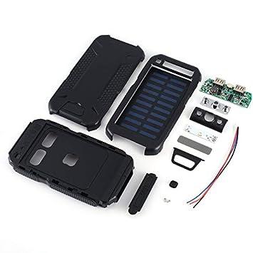 Libertroy Cargador de Panel Solar Solar Mobile Power Bank ...