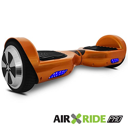 AIR RIDE PRO Self-Balancing Hoverboard Scooter with Training Mode and LED Light UL – 2272 – Gold