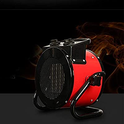 Per 2KW/3KW Industrial Heater Warm Air Blower Heater Dryer Fan Heater Garage Workshop Space Heater High Power & Energy Saving