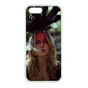 Perfect fitting cover protects your iPhone 5, White case protect your iPhone 5 with Cultural appropriation