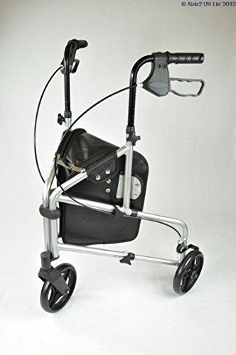 Able2 compacto andador de 3 ruedas (aluminio, ligero), color ...
