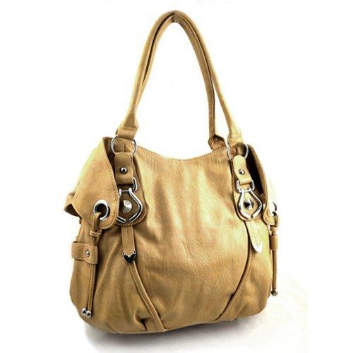 New York Hobo Handbag (Deep Distressed Light (Distressed Hobo Bag)