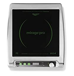 Vollrath (59500P) Mirage Pro Countertop Induction Range (1800-Watt, 15-Amps, NSF)