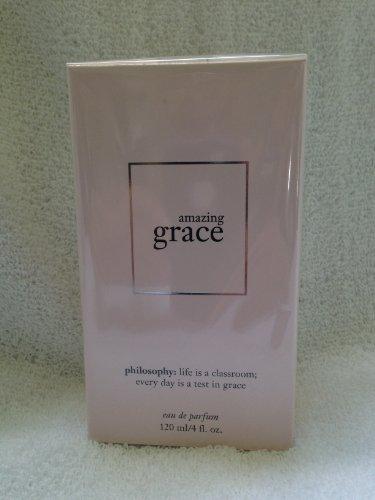 (Philosophy Amazing Grace Eau De Parfum 4 Fl Oz * ALWAYS NEW/BOXED!*)