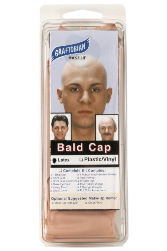 Graftobian Make-up Company Latex Bald Cap -