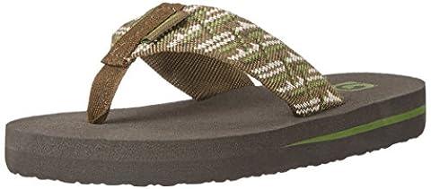 Teva Mush II Kids Flip Flop Sandal (Little Kid/Big Kid), Camouflage, 11 M US Little Kid (Kid Teva Flip Flops)