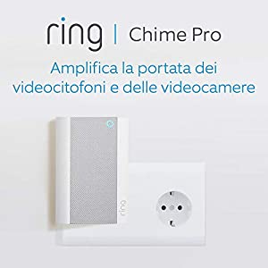 Nuovo Ring Chime Pro, bianco