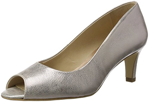 Van Dal Women's Norton Open-Toe Pumps Silver/Rose Gold MjKBzR
