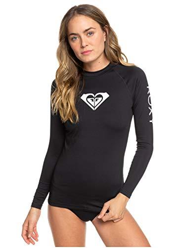 Roxy Damen L/sl Surf Tee Whole Hearted - Langärmliger Rashguard mit UPF 50 für Frauen