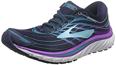 Brooks Women's Glycerin 15 Evening Blue/Purple Cactus Flower/Teal Victory 6.5 D US