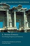 L. Annaeus Cornutus: Greek Theology, Fragments, and Testimonia (Writings from the Greco-Roman World 42)