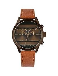 Tommy Hilfiger 1791594 - Reloj de pulsera (piel), color café