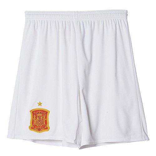 adidas Kinder Trikot/Auswärts-shorts UEFA EURO 2016 Spanien Replica, weiß, 152, AA0809