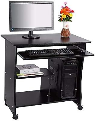 Mesa Ordenador PC Ordenador portátil Mesa de Trabajo Oficina ...