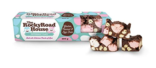 The Rocky Road House | Peppermint Place 200g Gourmet Bar Rocky Road Bar (Pack of 7)
