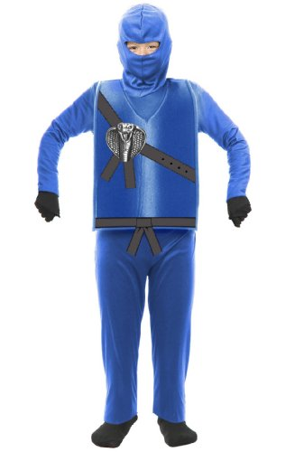 Ninja Avenger Child Costume Blue - X-Large