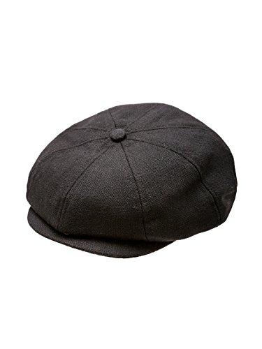Baby Boy Ring Bearer Pageboy Scally Cap - Flat Ivy Newsboy Tweed Golf Cap Hat (XXL, ()